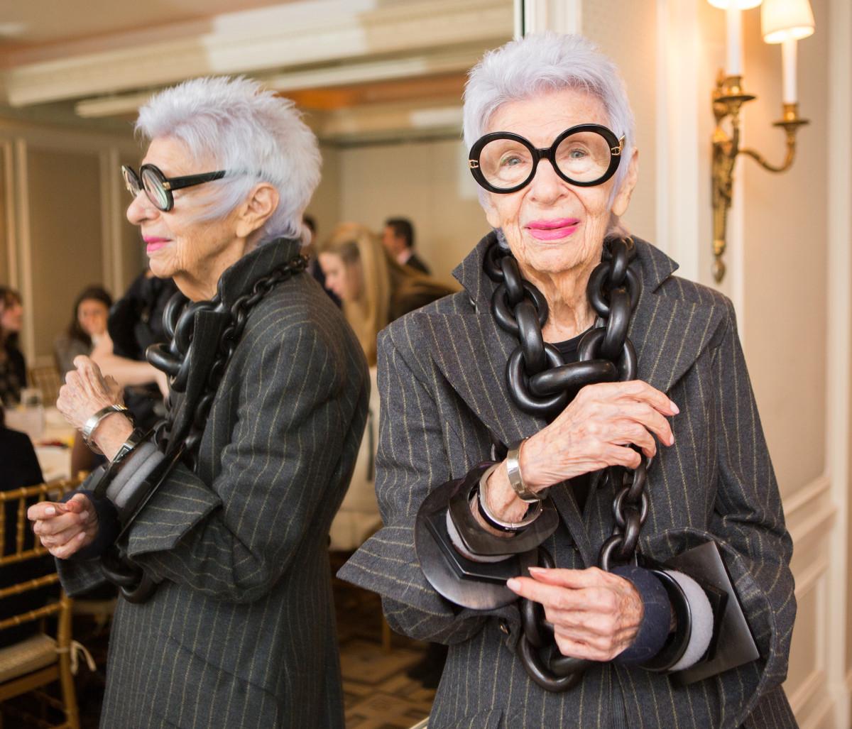 Столетняя дизайнер и икона моды Айрис Апфель сообщила о секретах долголетия