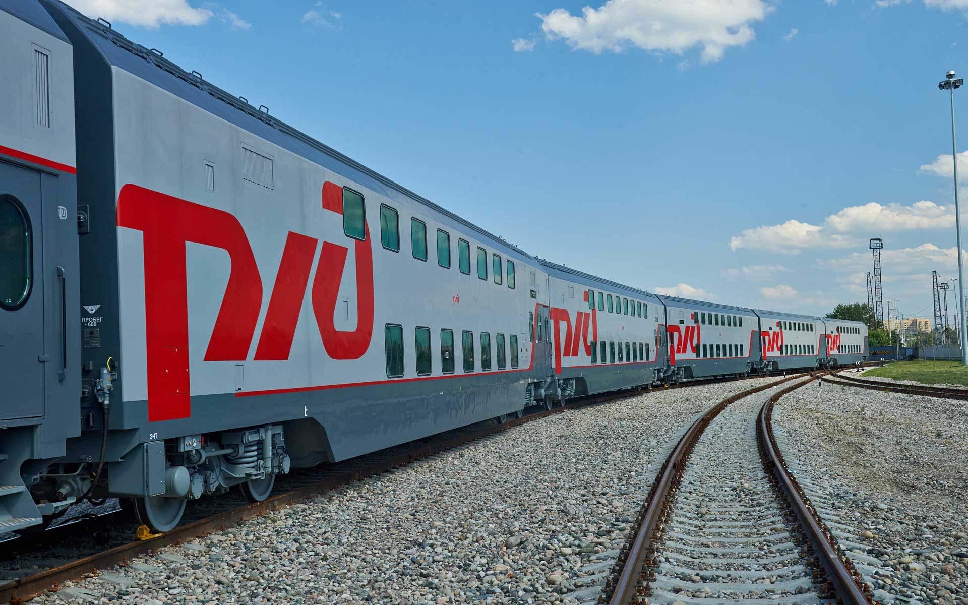 В Йошкар-Олу в 2022 году планируется запустить двухэтажные поезда из Москвы
