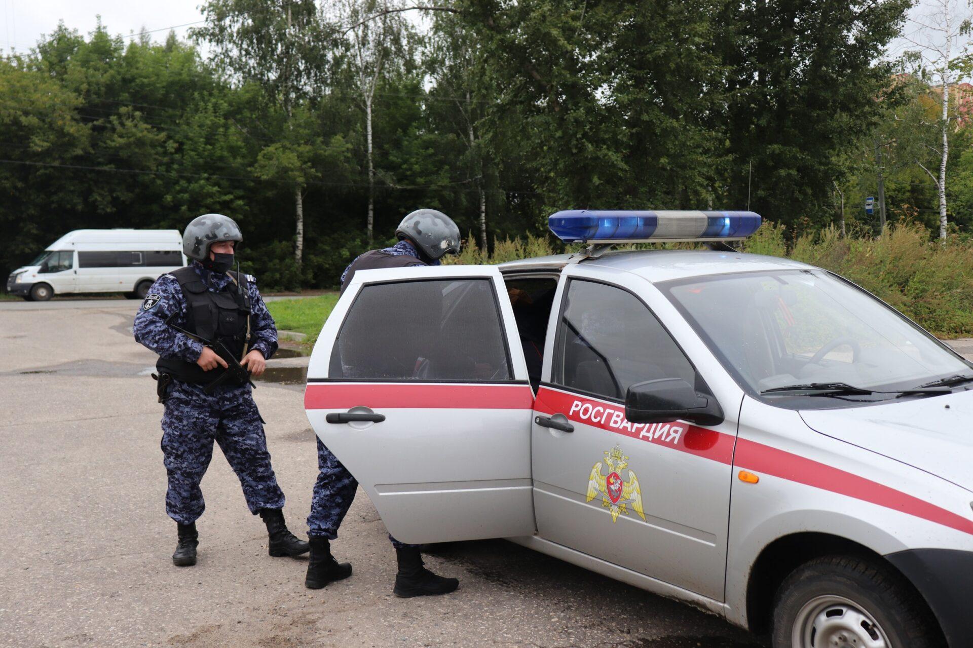 В Йошкар-Оле росгвардейцами задержан подозреваемый в нападении с ножом