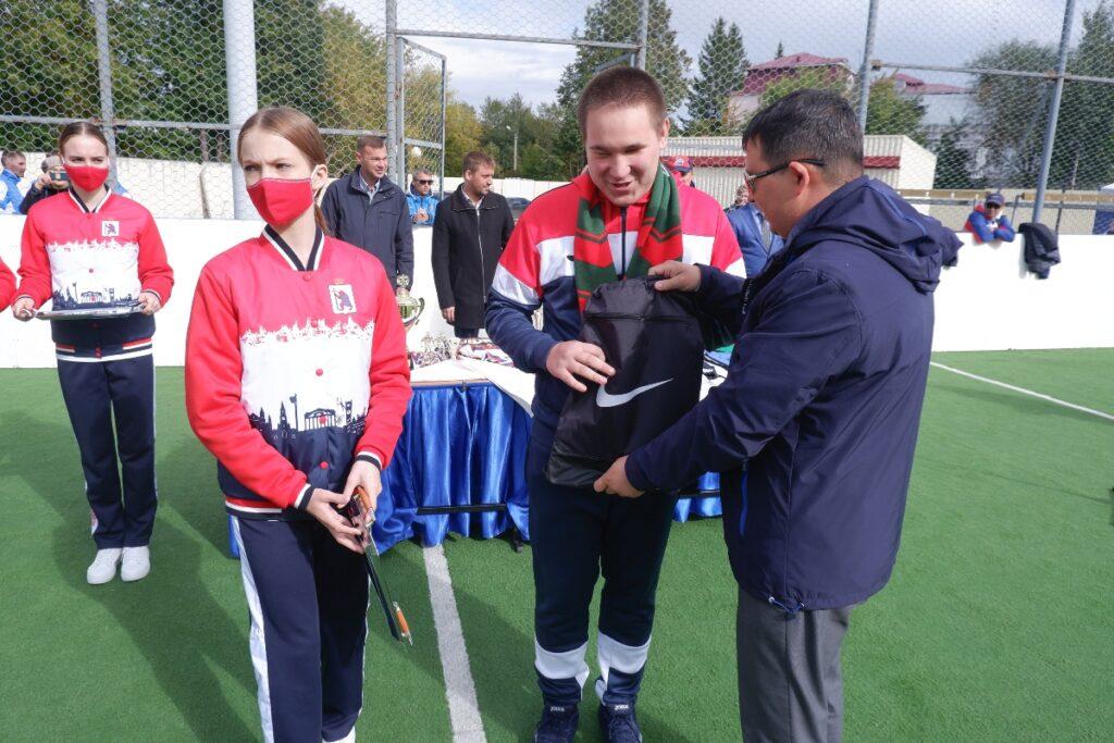 Команда из Марий Эл заняла второе место первенства России по мини-футболу слепых
