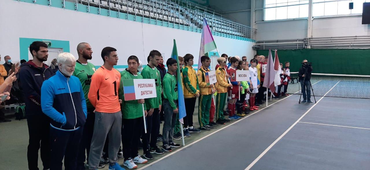 В Йошкар-Оле дан старт Всероссийским соревнованиям по мини-футболу слепых