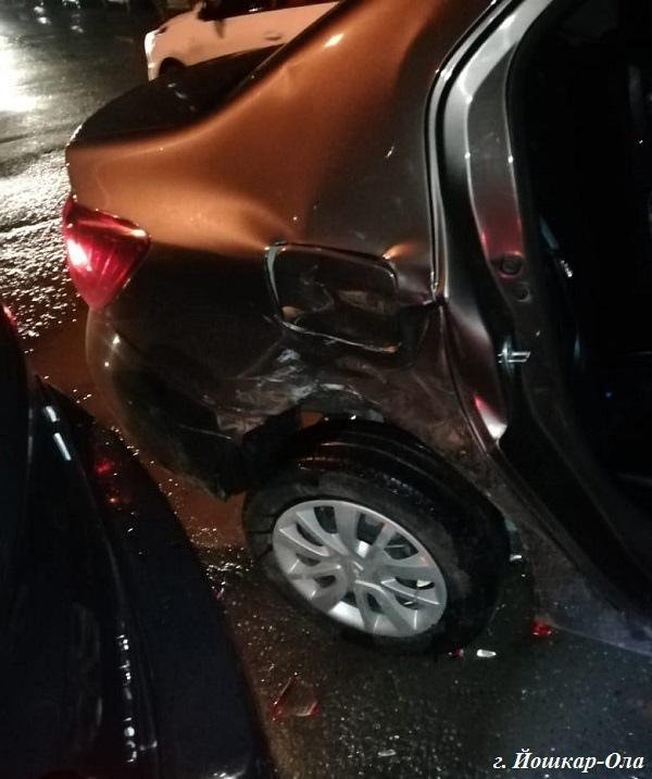 Два человека пострадали в авариях за выходные на дорогах Марий Эл