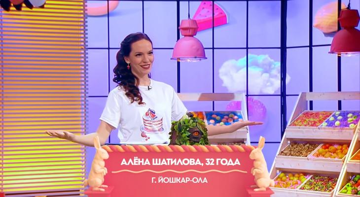 Жительница Йошкар-Олы на шоу «Кондитер» изготовила «Глаз дракона»