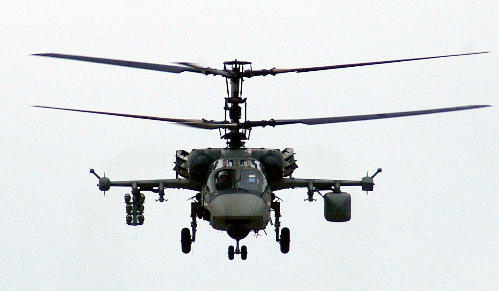 Avia.pro: Китай намерен закупить российские ударные вертолеты Ка-52К