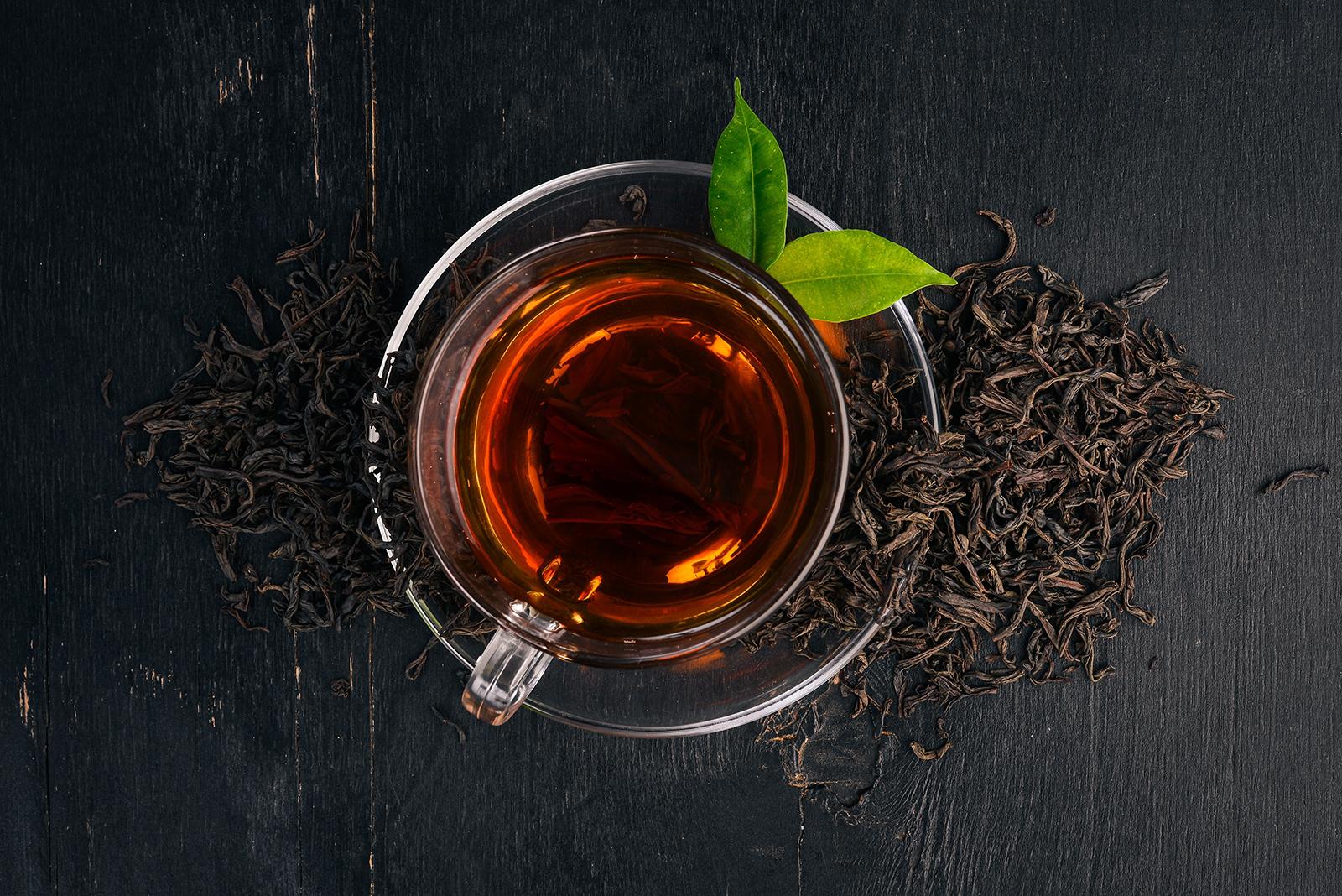 Учеными из США обнаружены в заваренном чае около 500 неизвестных соединений