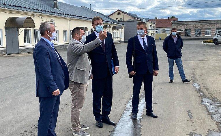 Константин Косачев побывал на трех предприятиях в Марий Эл