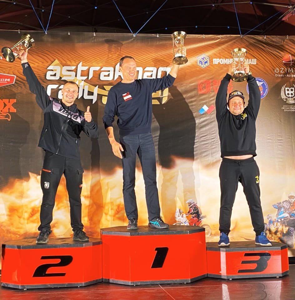 Александр Максимов из Марий Эл стал лидером в зачете квадроциклов на гонках в Астрахани