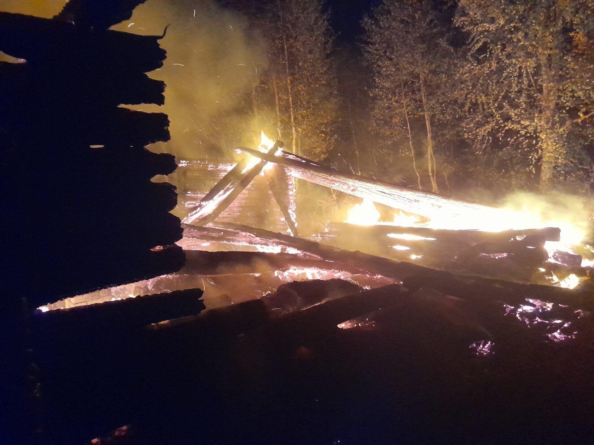 В Марий Эл в пожаре погибли двое местных жителей