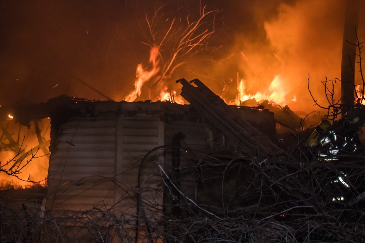 В Марий Эл за ночь произошло 2 пожара
