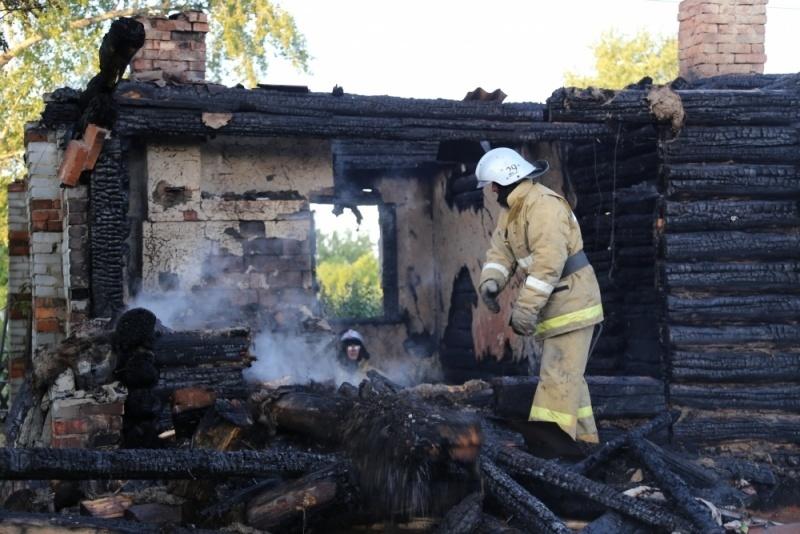 В одной из деревень Марий Эл горел жилой дом