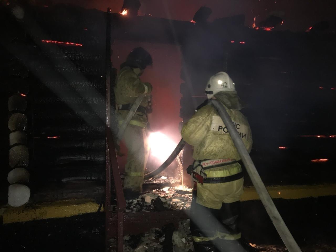 За прошедшие сутки в Марий Эл горели баня и кухня