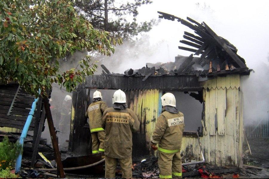 На территории Марий Эл за прошедшие сутки произошло пять пожаров