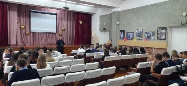В Марий Эл полицейские беседовали со школьниками о буллинге