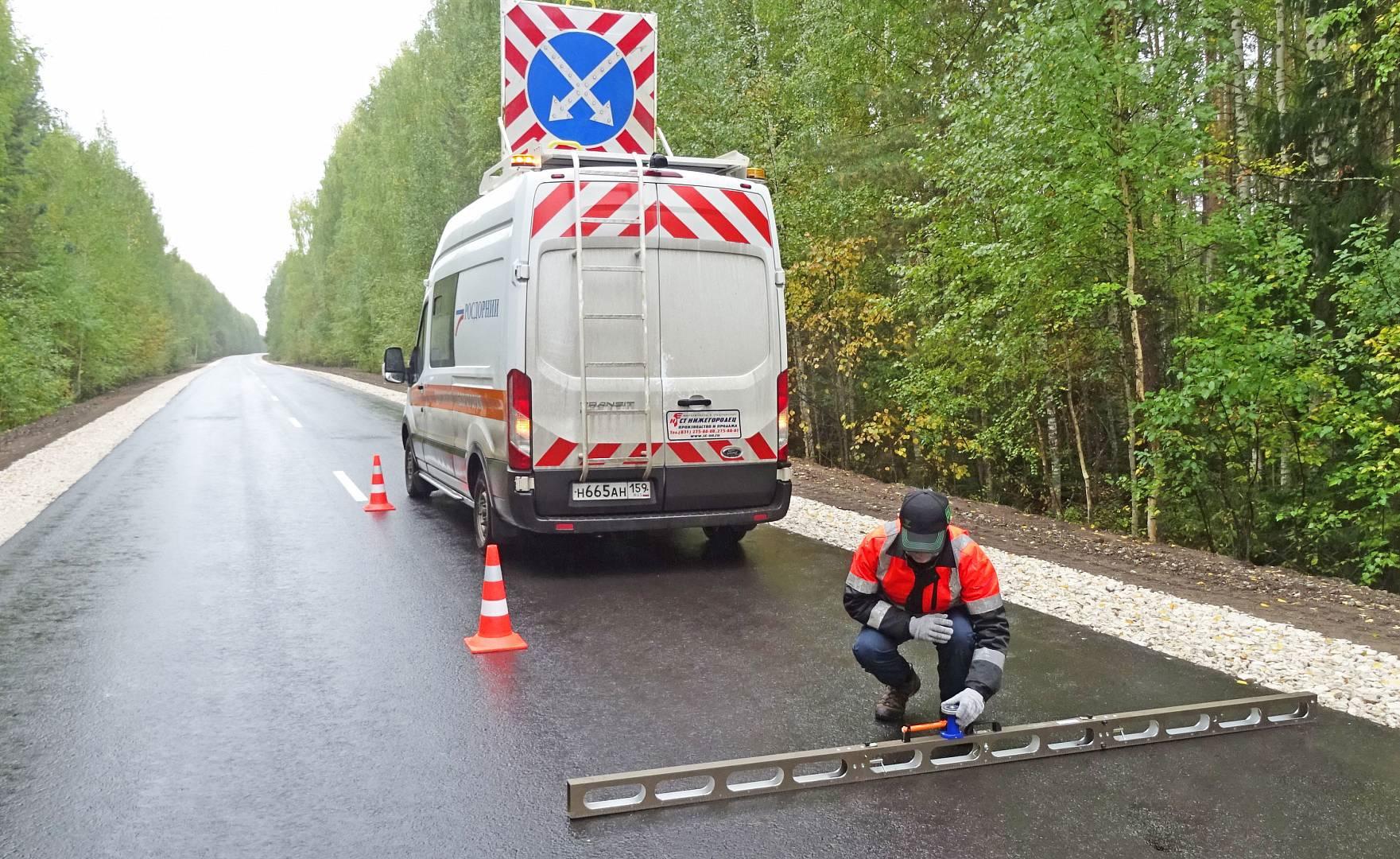 Эксперты РОСДОРНИИ оценили качество ремонта дорог в Марий Эл