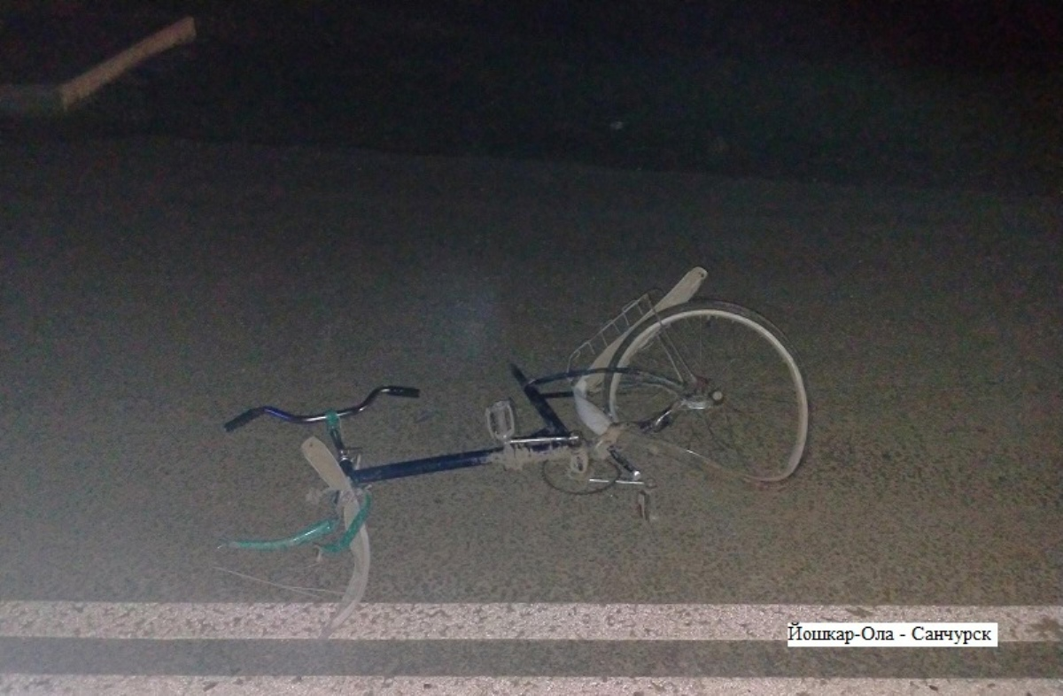В пригороде Йошкар-Олы под колесами машины погиб 27-летний велосипедист