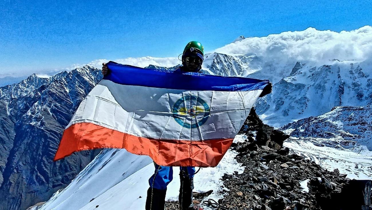 Спасатель из Марий Эл принял участие в учениях в Кармадонском ущелье у горы Казбек