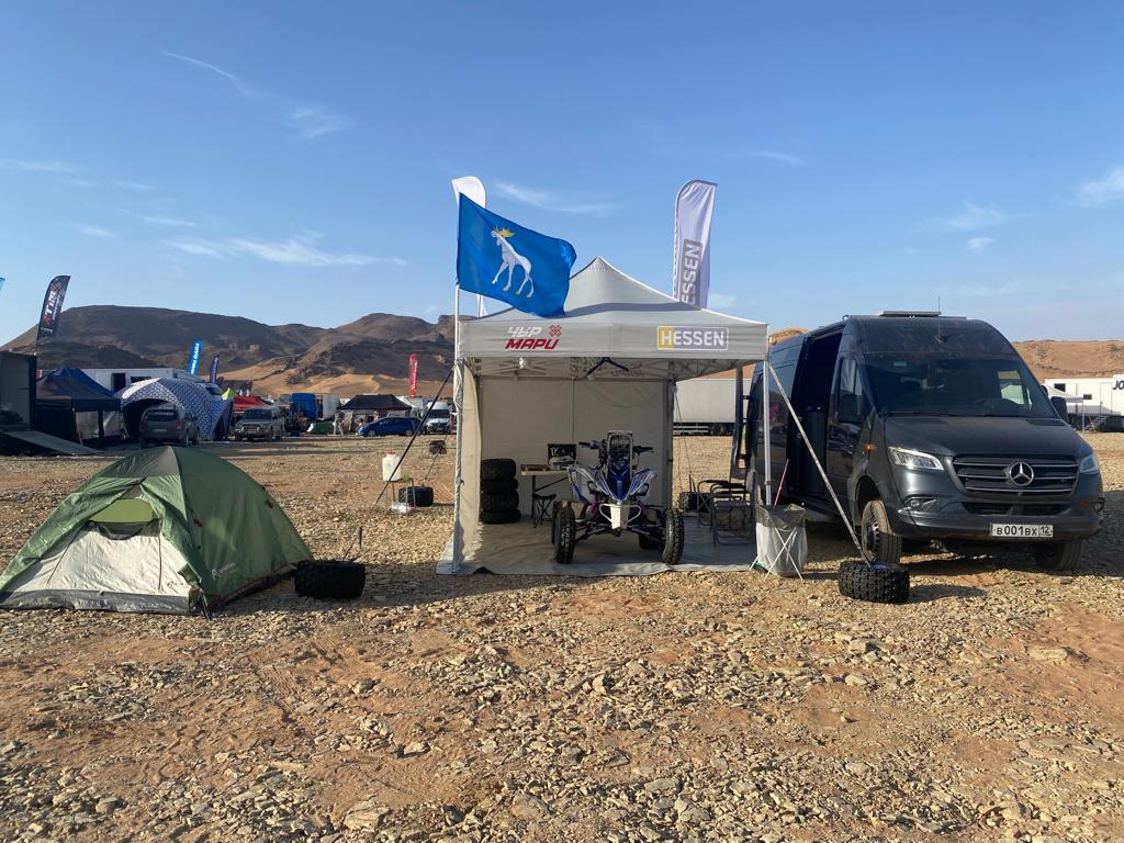 Флаг Йошкар-Олы доставили в пустыню Сахара