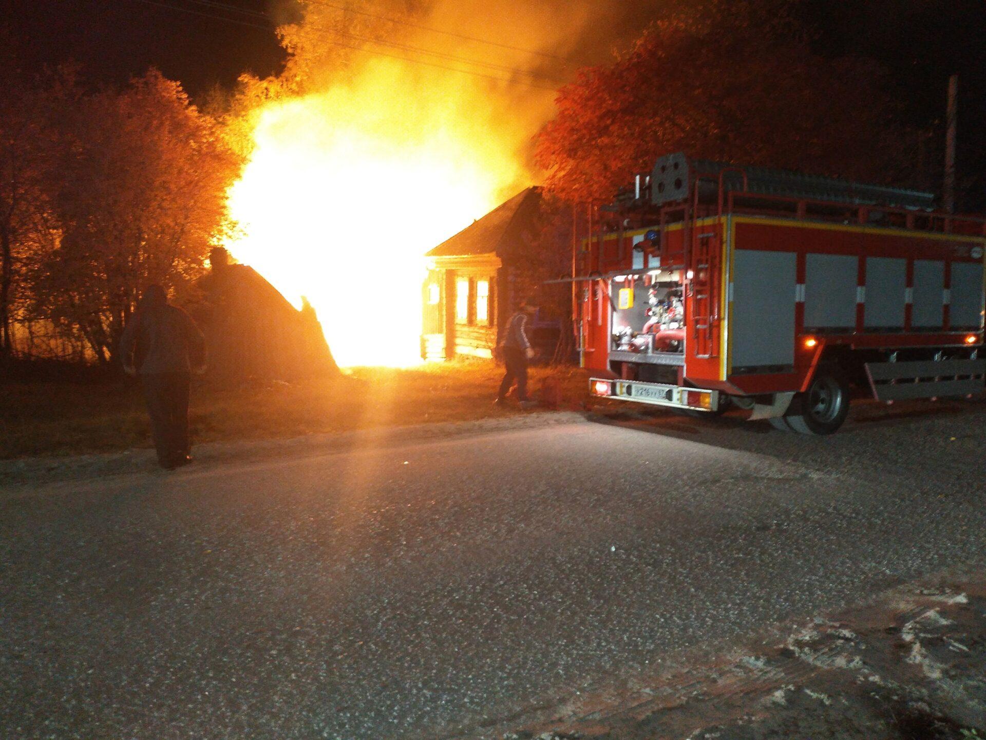Два человека погибли в пожарах за неделю в Марий Эл