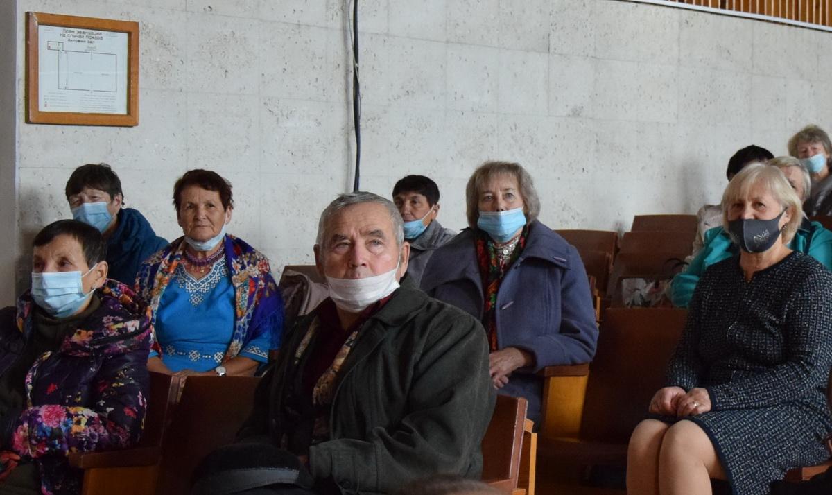 Совет ветеранов Звениговского района и в праздник не забывает о работе