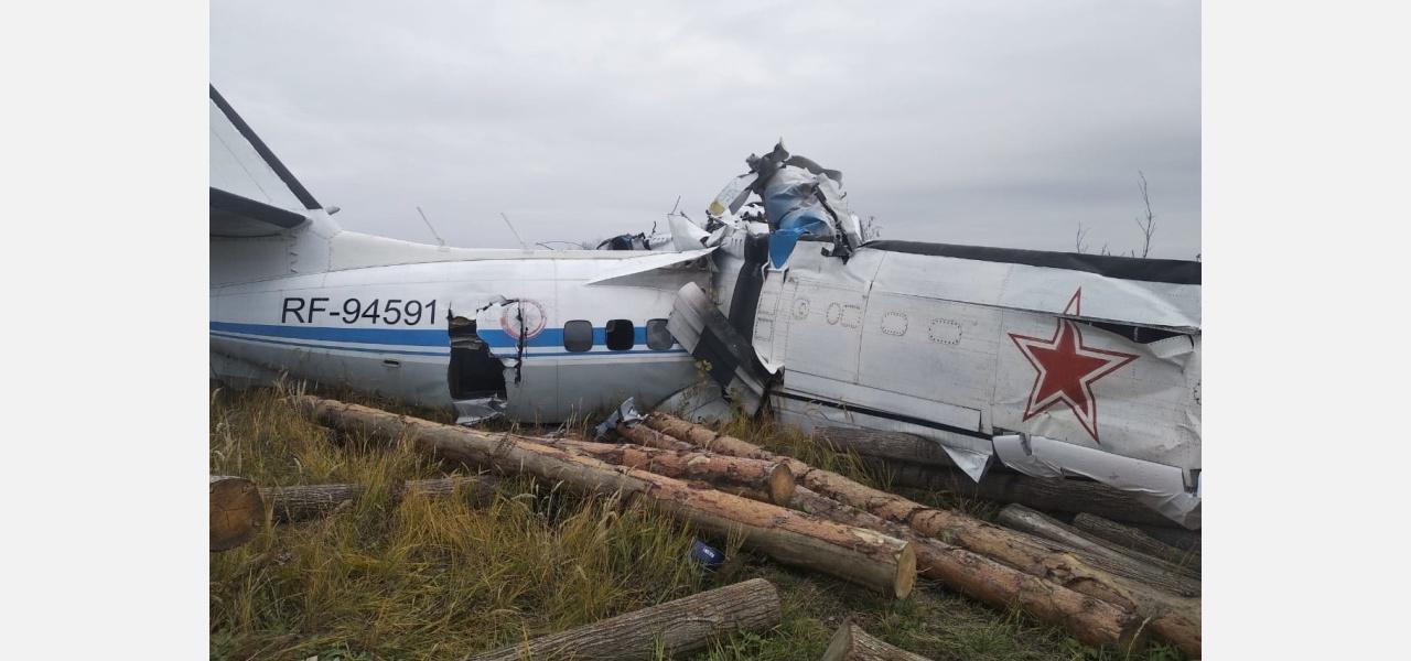 В крушении самолета L-410 в Татарстане выжил житель Йошкар-Олы