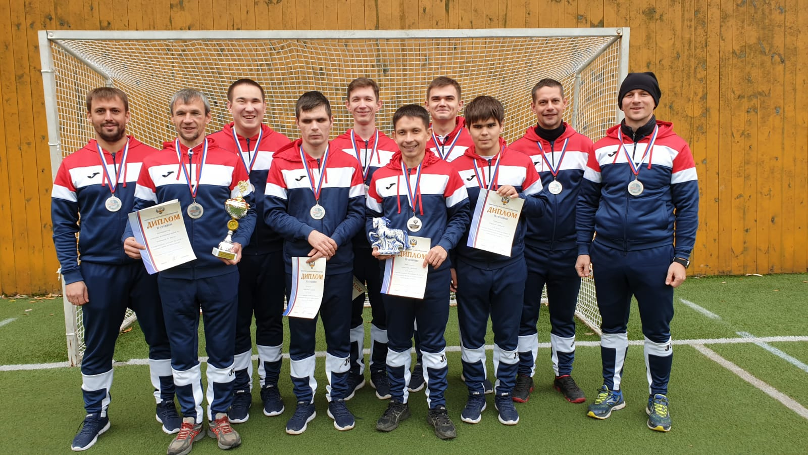 Команда из Марий Эл заняла второе место в чемпионате по мини-футболу среди слепых