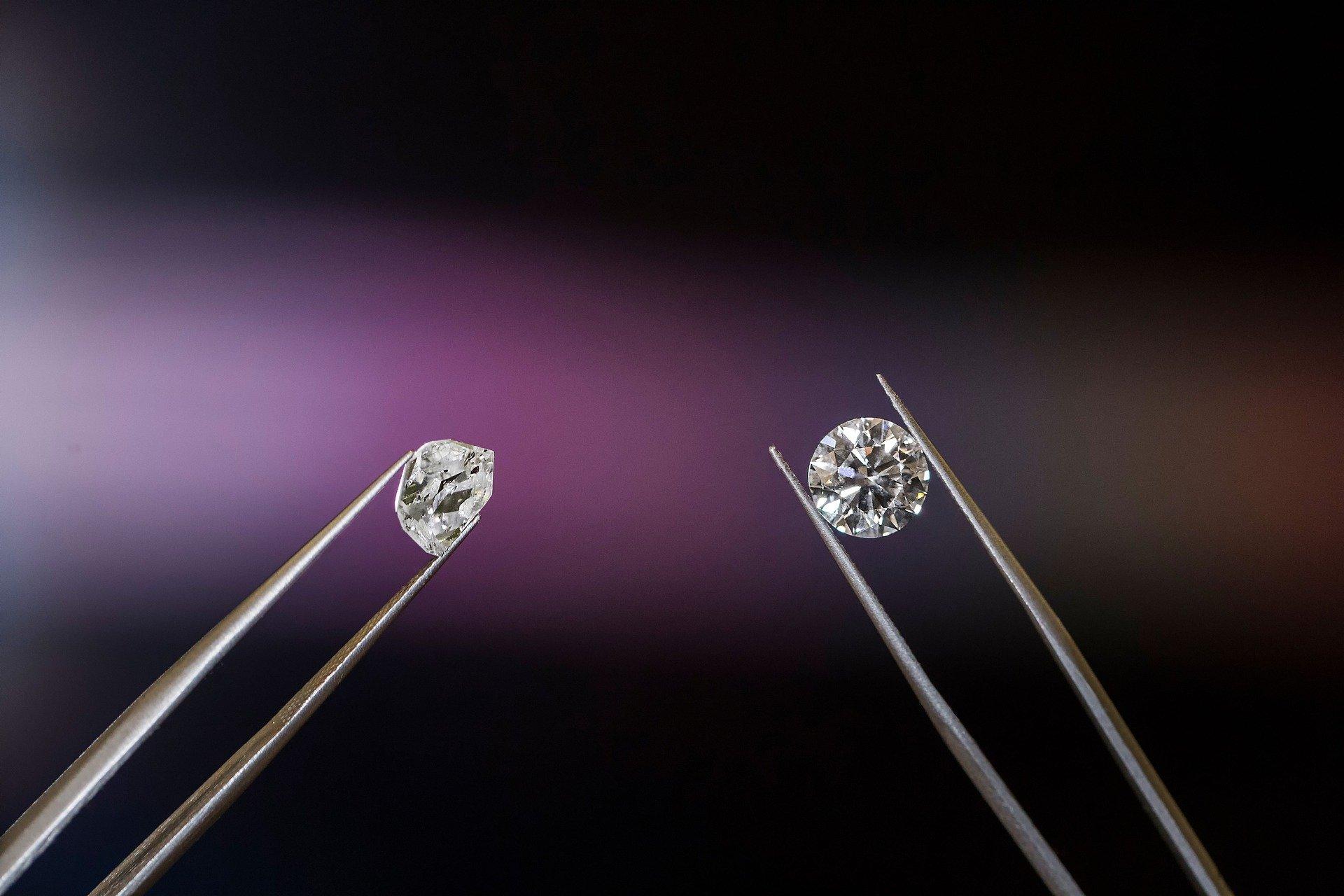 Геммологи США нашли криогенный алмаз-хамелеон, меняющий цвет