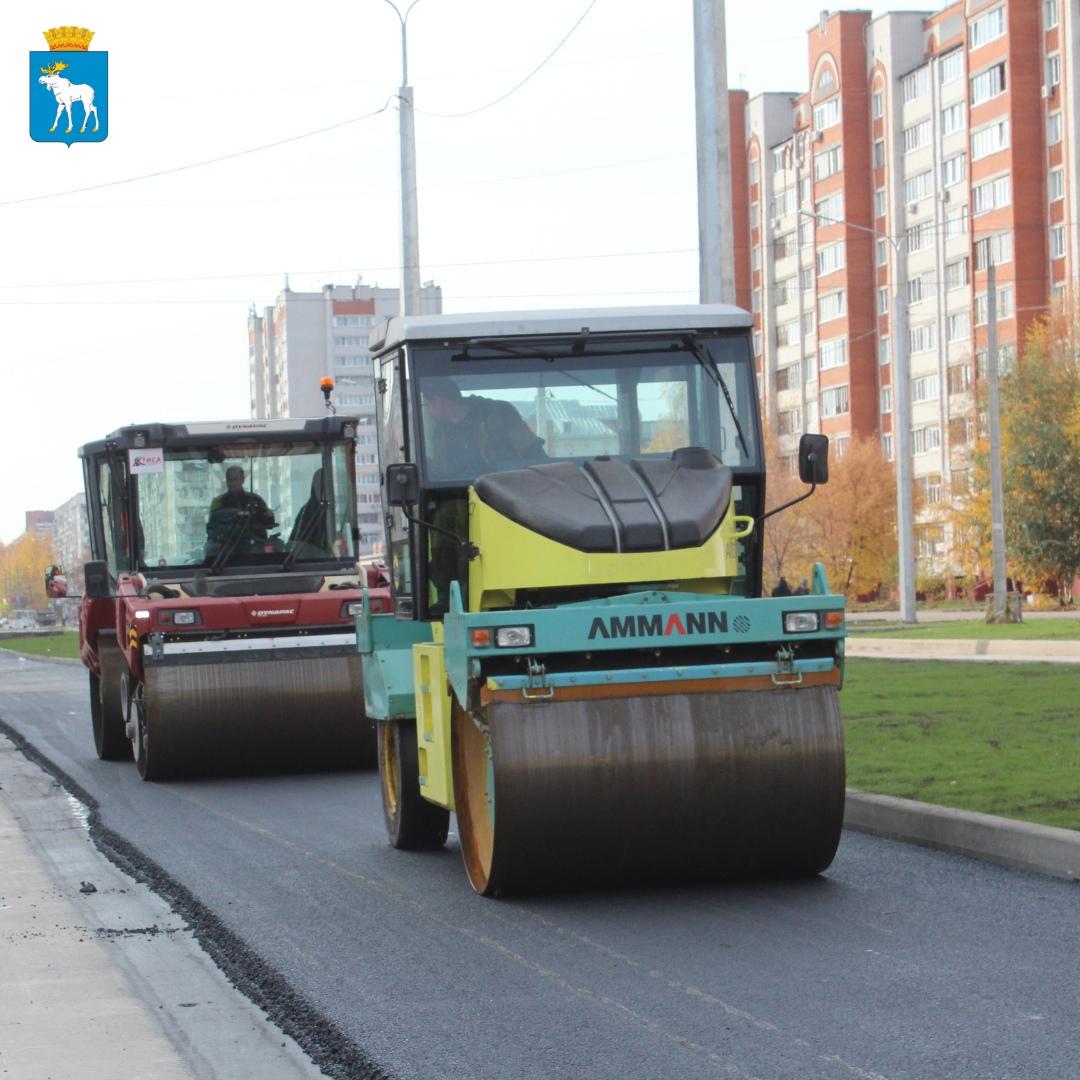В Йошкар-Оле бульвар Ураева и улицу Петрова отремонтируют в течение двух недель