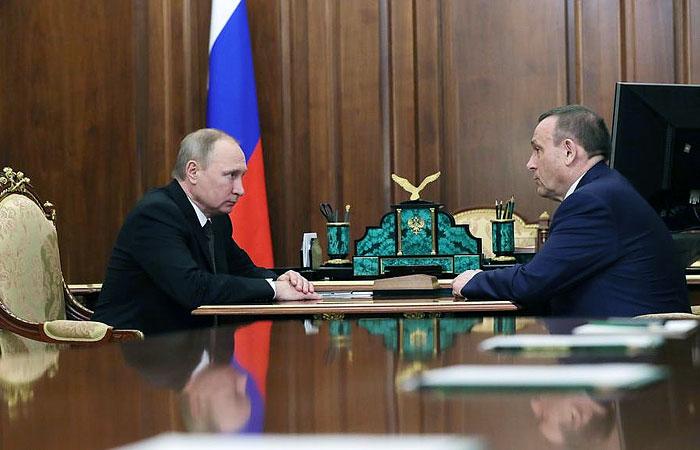 Президента России с Днём рождения поздравил Глава Марий Эл