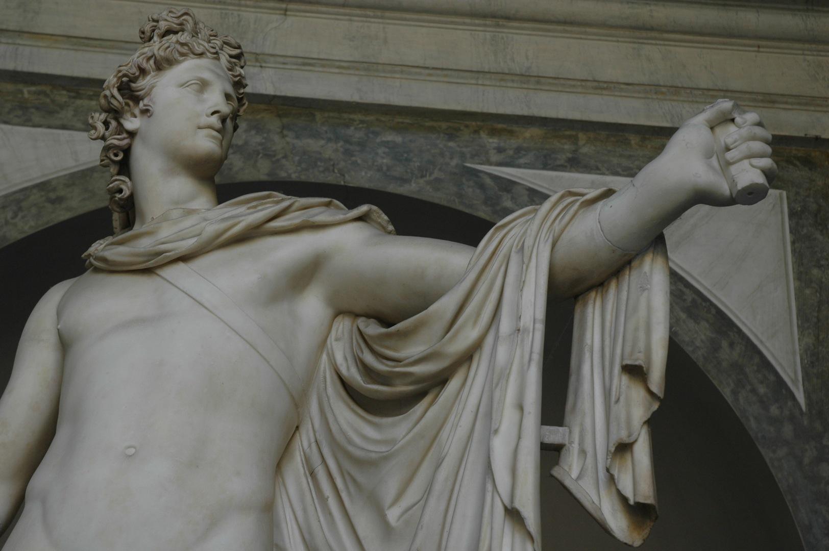 Мрамор для статуи Аполлона на Делосе добыли на острове Наксос