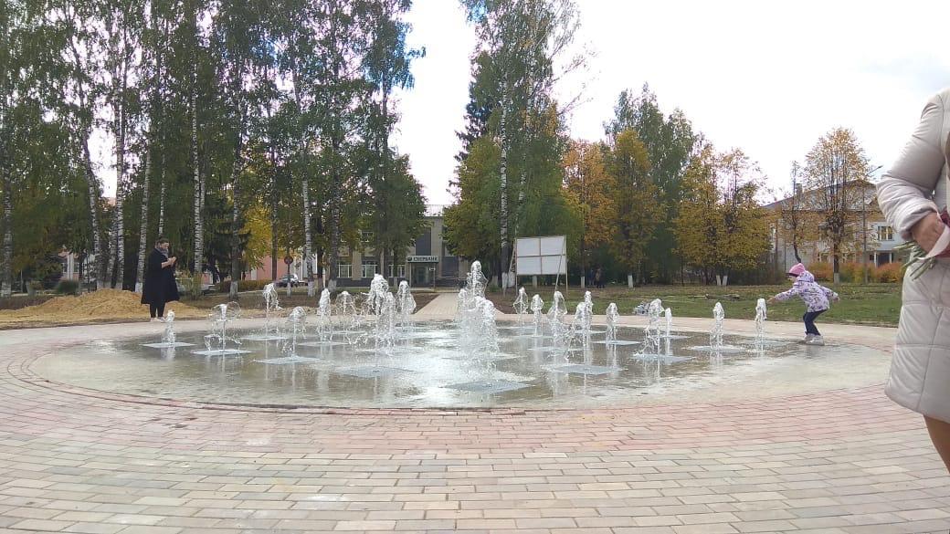 В Марий Эл появился первый сухой фонтан
