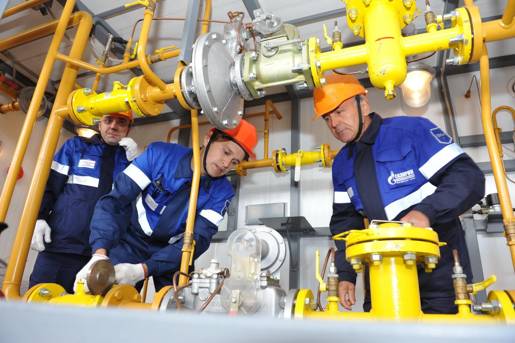 Система газоснабжения готова к работе в зимний период