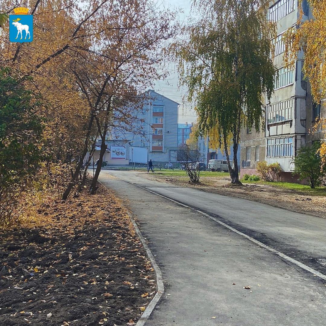 В Йошкар-Оле отремонтировали тротуар на улице Подольских Курсантов