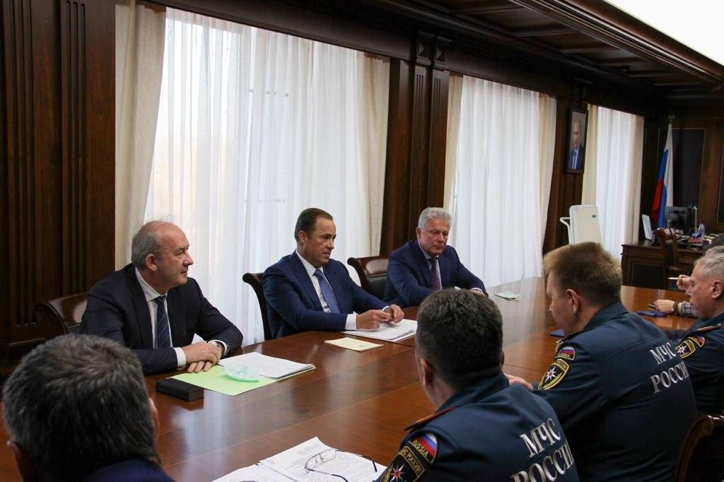 В Нижнем Новгороде состоялась рабочая встреча Александра Чуприяна с полпредом Президента РФ в ПФО Игорем Комаровым
