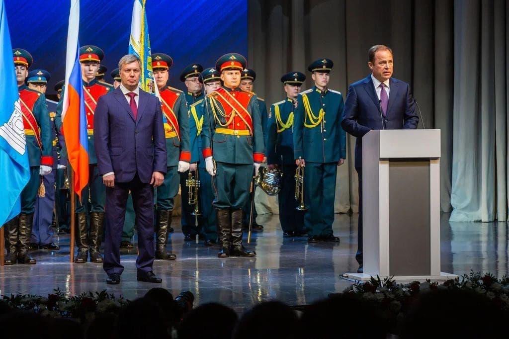 Игорь Комаров принял участие в инаугурации губернатора Ульяновской области