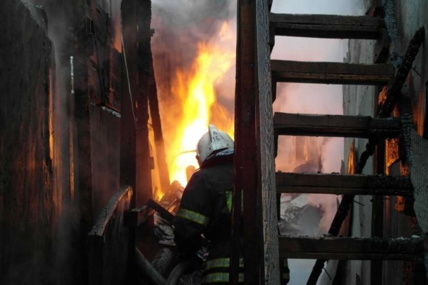 Ночью в Куженерском районе Марий Эл на пожаре погибли два человека