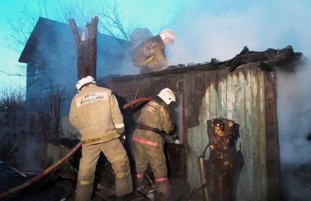 За сутки произошло три пожара в Йошкар-Оле и один в Новоторъяльском районе