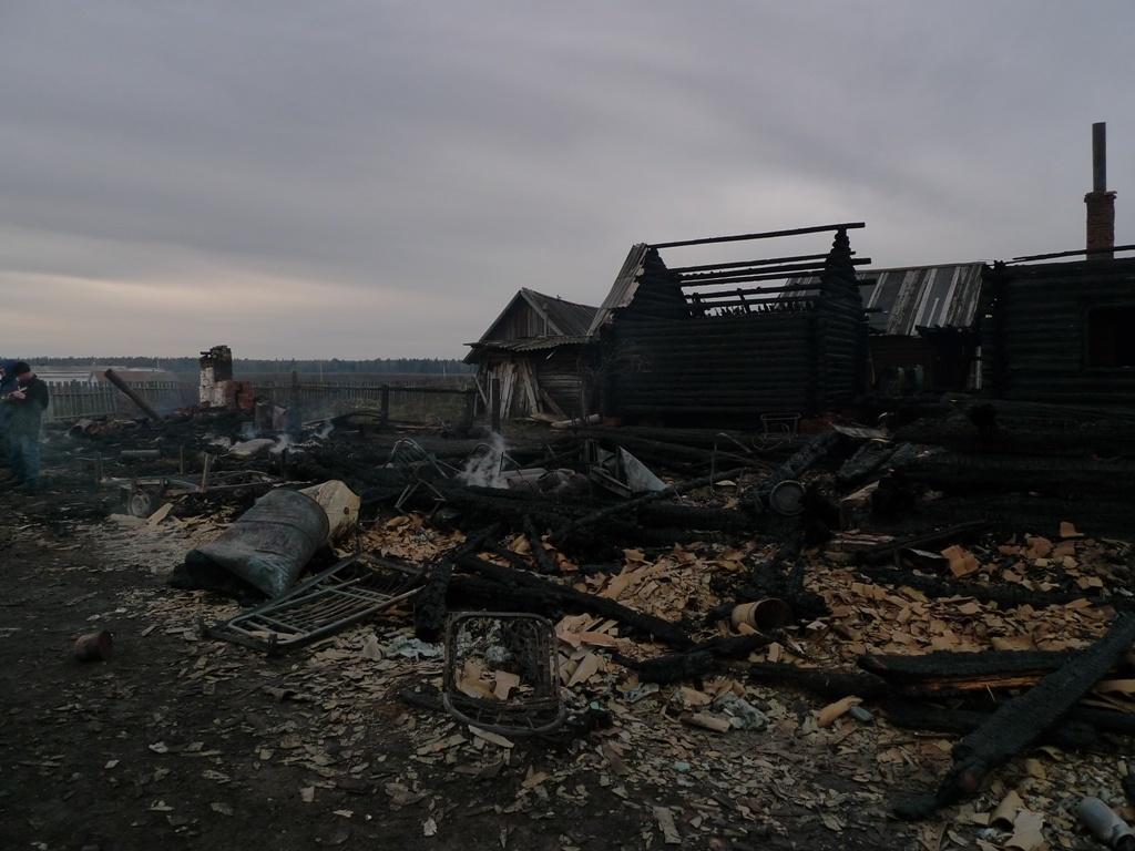 Два пожара случились в Марий Эл